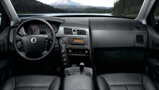 Ssangyong Actyon Sports pick-up interior