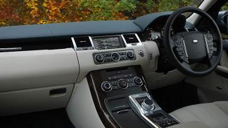 Range Rover Sport SDV6 interior