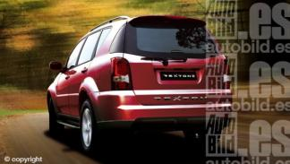 Nuevo SsangYong Rexton II 2012 trasera