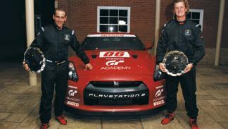 Lars Schlömer y Lucas Ordóñez, ganadores del GT Academy 2008
