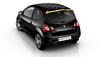 Trasera del Renault Twingo RS Red Bull Racing RB7