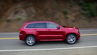 Jeep Grand Cherokee SRT8 barrido