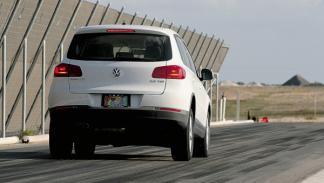 Test de neumáticos frenada en seco