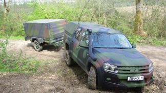 Nuevo Volkswagen Amarok M militar remolque