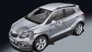 Nuevo Opel Mokka 2012 tracción 4WD