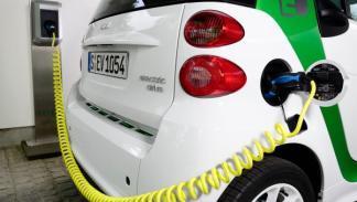 Smart electric Drive 2012 wallbox
