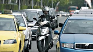 Cuidado con los coches por ciudad