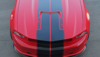 Shelby GT350 2013 capó
