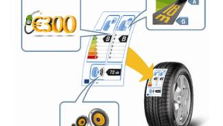 Nueva etiqueta europea para los neumáticos.