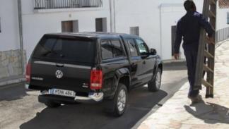 Volkswagen Amarok, trasera