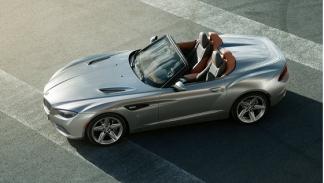 BMW Zagato Roadster vista superior