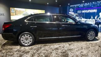 Hyundai Equus Limousine salon moscu 2012