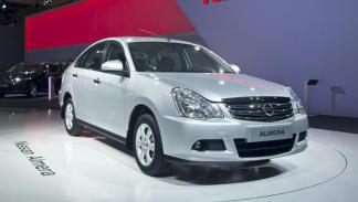 Nissan Almera Salón Moscu 2012