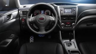 Subaru Forester TS STi, interior
