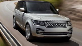 Range Rover 2013, peso