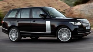 Range Rover 2013, aerodinámica