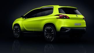 Peugeot 2008 Concept fabricación