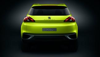 Peugeot 2008 Concept medidas