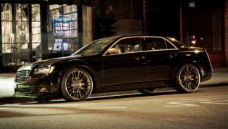 Lateral del Chrysler 300 de John Varvatos