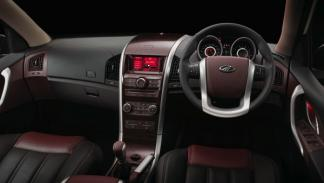 Mahindra XUV500, interior