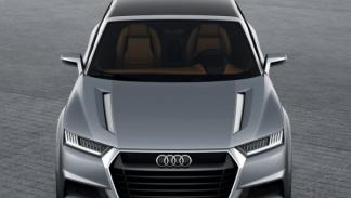 Audi Crosslane Coupé frontal