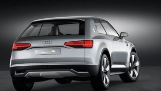 Audi Crosslane Coupé trasera