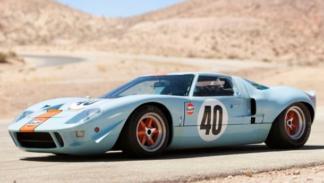 más caro subasta  Ford GT40 Steve McQueen