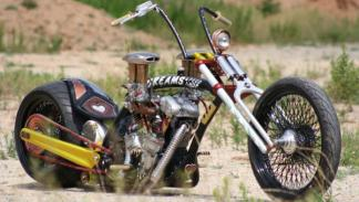 Harley-Davidson Ramera expuesta