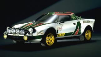 Lancia Stratos ladeado