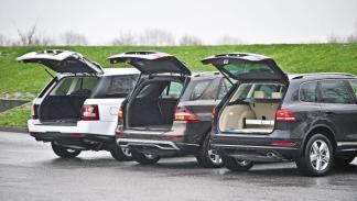 Comparativa ML-Touareg-Range Rover