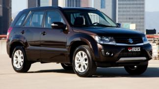 Suzuki Grand Vitara 2013, frontal
