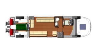 Limousine Tender 33 interior