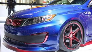 Kia Superman detalle
