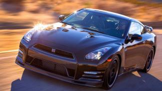 Nissan GT-R Track Edition tres cuartos delantero