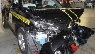 Crasht test Euro NCAP Toyota RAV4