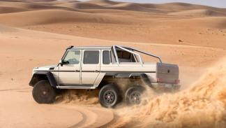 Mercedes G 63 AMG 6x6 lateral