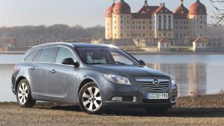 Opel Insignia Sports Tourer CDTI prueba larga duración estática frontal