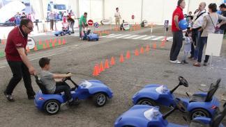 Espíritu de Montjuïc coches niños