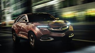 Acura SUV-X Concept movimiento