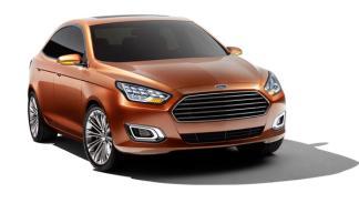Ford Escort Concept delantera