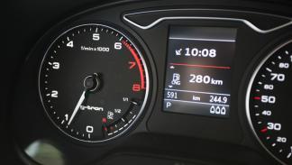 El Audi A3 g-tron solo se diferencia del A3 Sportback en el tablero de mandos