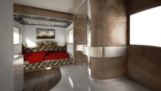 caravana de lujo por 2 millones de euros, habitación
