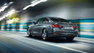 BMW Serie 4 tres cuartos trasera