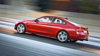 Nuevo BMW Serie 4 3/4 trasera dinámica
