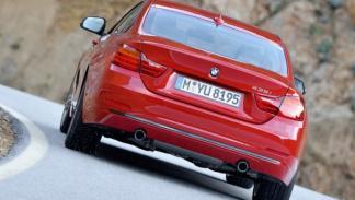 Nuevo BMW Serie 4 trasera dinámica