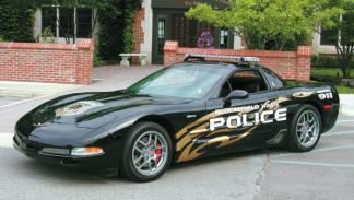 Corvette 3/4 delantero