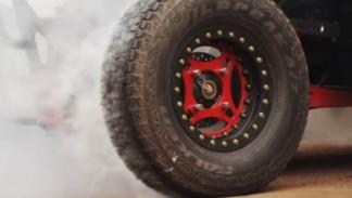 Buggy RZP XP 1000 rueda