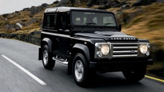 Land Rover Defender Richard Hammond