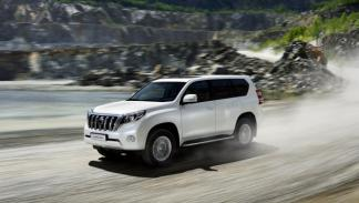 Toyota Land Cruiser 2014 barrido