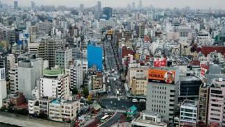 tráfico urbano tokio